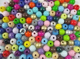 Perles en bois lafeedesperles - Perle en bois pour attache tetine ...
